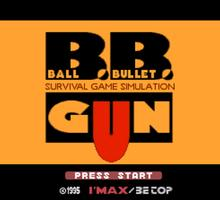 Ball Bullet Gun: Survival Game Simulation