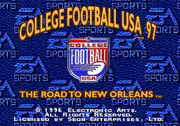 EA College Football 97