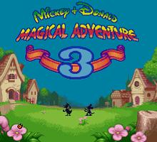 Mickey to Donald - Magical Adventure 3 English